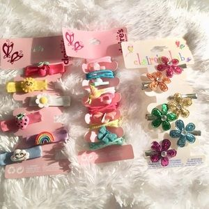 Claire's Hair Barrettes and Hair Ties